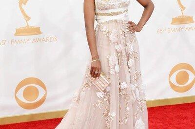 Inspírate en los premios Emmy 2013 para tu vestido de novia