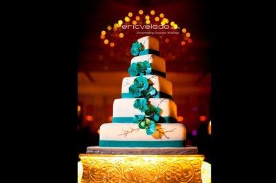 Die fünf kreativsten Hochzeitstorten- eine Auswahl von Zankyou