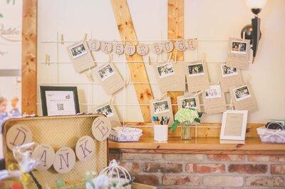 Kreative und unvergessliche Alternativen für Gästebücher – ideal für Ihre Hochzeit!