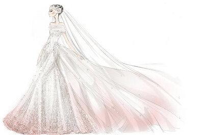 La foto de la semana: El vestido de novia de Anne Hathaway