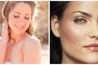 Da cor do ouro: maquiagem dourada para noivas