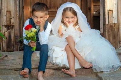 Tips voor kleine VIP's op jouw bruiloft!