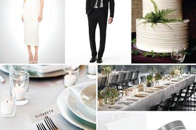 Cómo tener una boda minimalista: Simplicidad y elegancia que conquistan