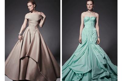 El toque retro en glamour total: Enamórate de los vestidos de fiesta 2015 de Zac Posen