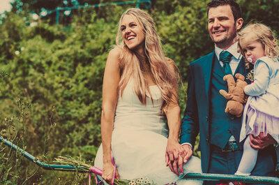 Süß, frech und fotogen: Hochzeitsfotografen in Deutschland fangen die schönsten Kinder-Momente ein!