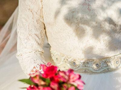 Vestidos de novia cuello alto o cisne 2016: Descubre estas increíbles propuestas para climas templados