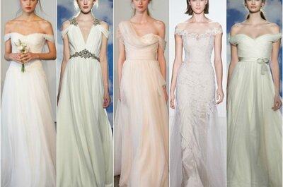 Últimas tendencias en vestidos de novia para el 2015