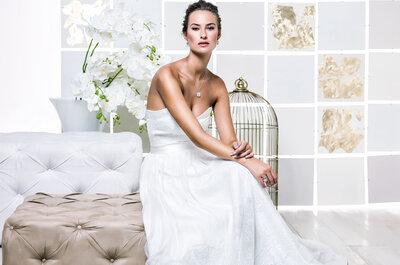 Vestidos de novia Gio Rodrigues 2017: diseños elegantes, sofisticados y sensuales