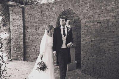 Romanticismo en una tarde de otoño: la boda de Xio y Xiqui