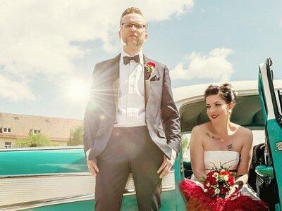 Heiraten im Rockabilly-Style: Ihre Hochzeit kann genauso individuell sein, wie Sie selbst es sind!