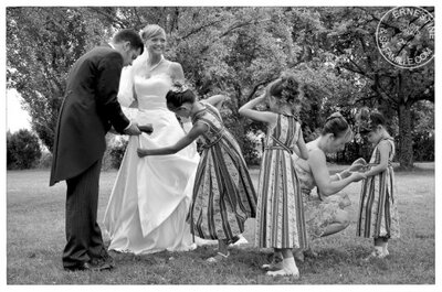 Ernestine et sa famille : photos de famille et reportage de mariage
