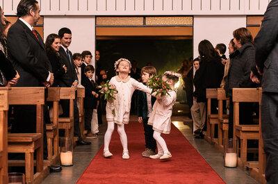 ¿Cómo vestir a los niños en un matrimonio? ¡Ideas para los más pequeños de la casa!