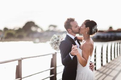 Le mariage paradisiaque sur la pointe du Cap Ferret de Carole + Ben