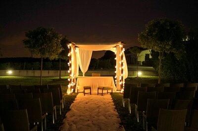 Luz âmbar no seu casamento: uma decoração intimista e glamourosa!