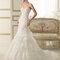 Suknia ślubna z kolekcji Luna Novias 2014. Model: ELDA