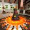 A mesa de doces está repleta da cor, também nos cupcakes. Foto: Eric Velado-21