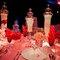 Centro de mesa lleno de dulce inspirado en Katy Perry