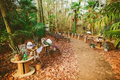 Lo que deberías saber si tu boda va a ser al aire libre