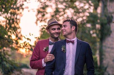 L'heureux mariage de Mickaël et Fabien dans un magnifique domaine girondin
