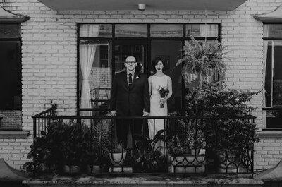 Un verbo que nos conjugue a los dos: La boda de Ceci y Rene