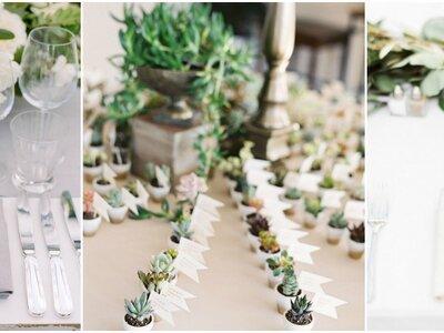 ¿Tienes dudas sobre cómo indicar a tus invitados su lugar en las mesas? ¡Atenta a estas originales ideas!
