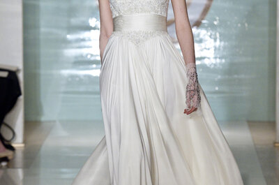 Bridal sensuality and romanticism by Reem Acra 2015