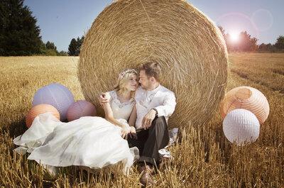 Patricia et Jérémy : un sublime mariage rustique chic en Alsace