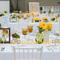 Decoración de boda con detalles inspirados en colores cítricos - Foto La Vida Creations