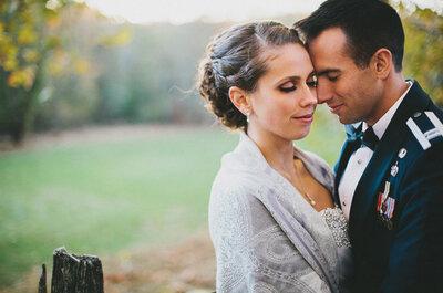 Real Wedding: Jamás pensaste que un Capitán de la Fuerza Aérea se vería tan guapo vestido de novio