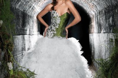 inspiración en bosque mágico, vestidos de novia Jordi Dalmau 2013