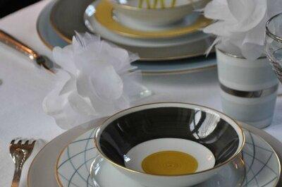 Un servizio di Marie Daâge nella vostra lista nozze: eleganza in tavola assicurata!