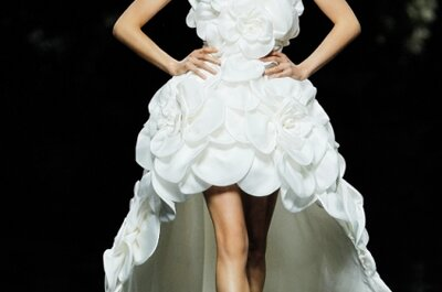 Wedding Dresses Inspired by Flowers