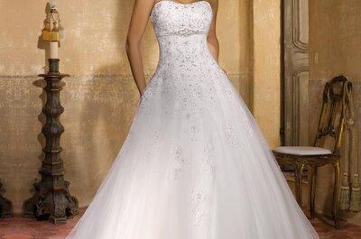 Vestidos de novia Miss Kelly 2016: diseños para auténticas princesas