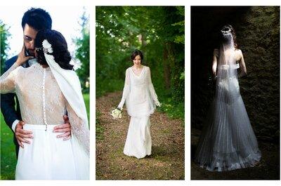 Etoffes et Silhouettes : des robes de mariée élégantes qui révèlent la féminité