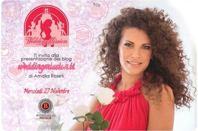 Wedding Mission: il 27 Novembre 2013, missione Matrimonio Perfetto!