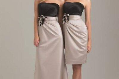 Vestidos para damas de honra adultas de Allure Bridals