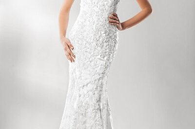 Elena Reynoso: Los vestidos de novia perfectos para las chicas mexicanas... ¿Con cuál te quedas?