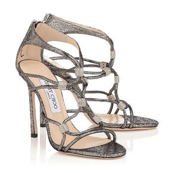 Deslumbrantes zapatos de novia Jimmy Choo 2017