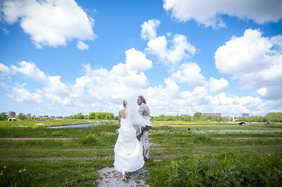 De bruiloft van Mandy en Peter: trouw niet voor je 40 bent!