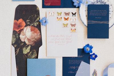 Le elegancia del azul marino en bodas 2016: Una decoración fantástica para sorprender