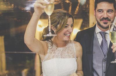 ¿Cómo sorprender con bebidas originales en el cóctel de tu matrimonio?
