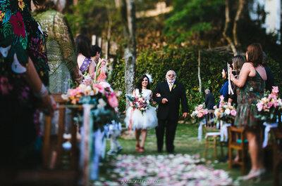 Poderia ser um filme, mas é de verdade: casamento de Luana e Aruanã