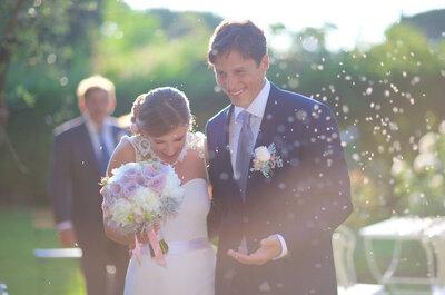Come ottenere le fotografie di nozze più belle se ti sposi in primavera