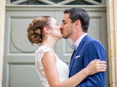 Aurore et Thomas : Un joli mariage dans la Nièvre sur le thème de la chimie