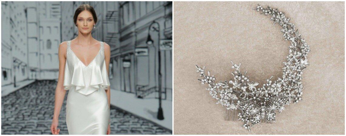 """Novia """"slip dress"""", así es el nuevo look de la semana. ¡Una propuesta sensual y elegante!"""