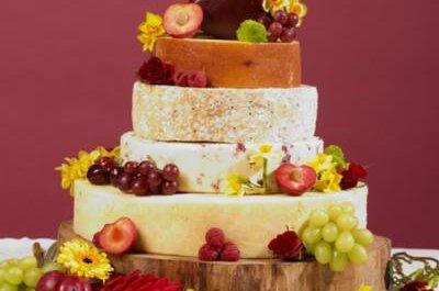 5 originales tortas de bodas con ingredientes sorprendentes