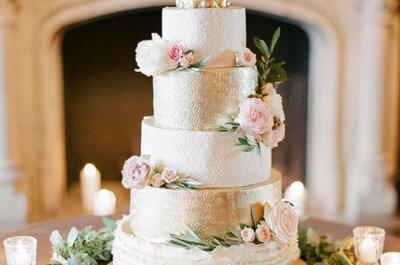 Los sabores de tortas de bodas más populares del 2017