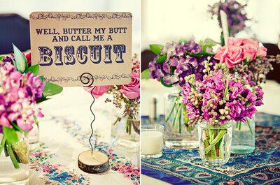 5 trucos para hacer centros de mesa para boda con frascos