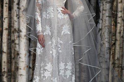 Vestidos de noiva dignos de contos de fada de Naeem Khan 2015  - New York Bridal Week