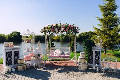 Как организовать свадьбу на открытом воздухе? Рекомендации от специалиста!